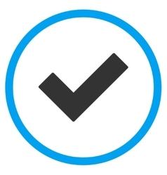 Ok tick icon vector