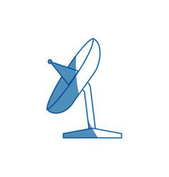 Satellite dish antenna for broadcast communication vector