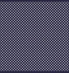 seamless grid background with small dots vector image