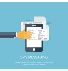 Sms Communication Social vector