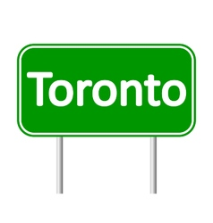 Toronto road sign vector
