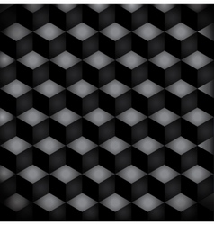 Background black squares vector