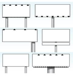 Billboards vector