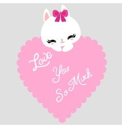 bunny 11 vector image