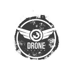 drone logo vector image