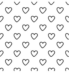 Greedy heart pattern seamless vector