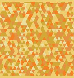 orange retro triangular seamless pattern vector image