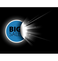 sale label with surprise vector image