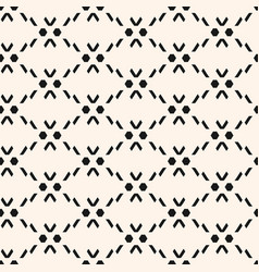 seamless pattern in traditional ethnic style vector image
