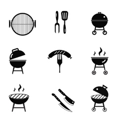 stock barbecue restaurant party family vector image