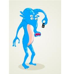 Strange Creature vector image