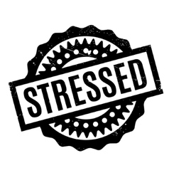 Stressed rubber stamp vector