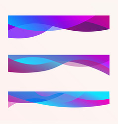 wavy design element vector image