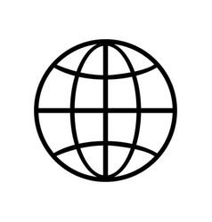 Web icon page symbol globeweb icon logo app ui vector