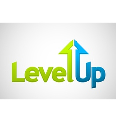 Level Up vector image vector image