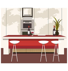 Modern Kitchen vector image vector image