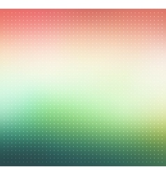 Pink and green gradient Dotted background vector image