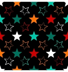 Seamless universal pattern Stars vector image vector image
