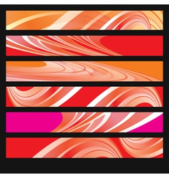 Abstract Smoky Flow Background vector image vector image