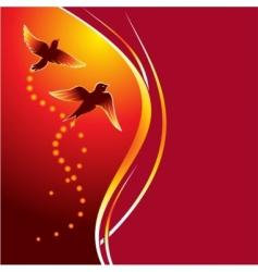 firebirds vector image