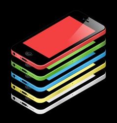 Phone 5C vector image