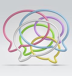 wire bubbles vector image vector image