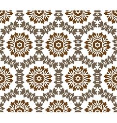 Vintage baroque pattern vector image vector image