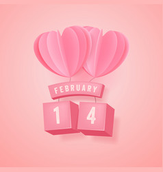 14 february valentines day festival vector image