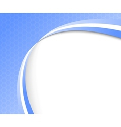 abstract blue background template vector image