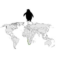 African penguin range vector