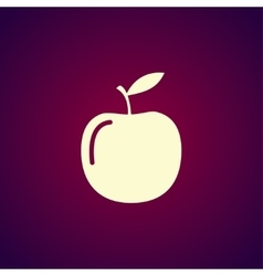 apple - icon vector image