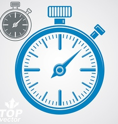 Classic stopwatch additional version included Eps vector