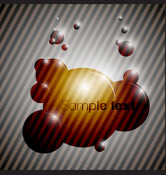colorful bubble background eps10 vector image