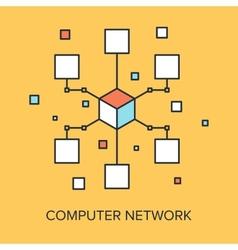 Computer Network vector