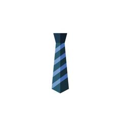 Isolated textile flat icon cravat element vector