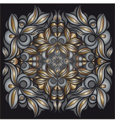 metallic pattern vector image