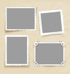 old victorian image frames vintage photo borders vector image