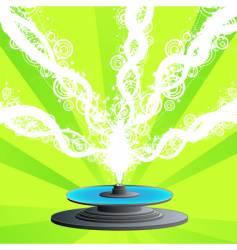 party fountain vector image