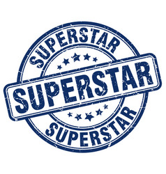 Superstar stamp vector