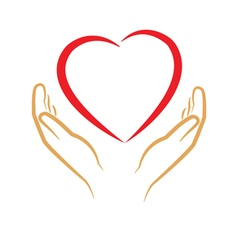 save love vector image