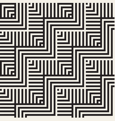 abstract zigzag parallel stripes seamless vector image