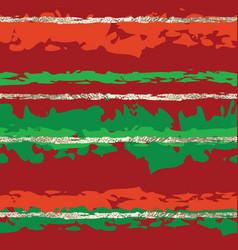 christmas gold foil horizontal line pattern vector image