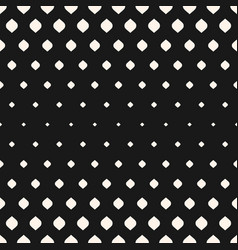 Halftone seamless pattern with rhombuses vector
