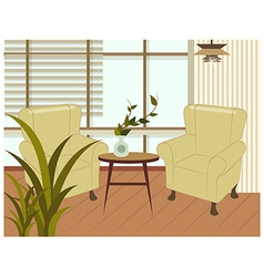 Home Interior Background vector
