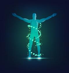 human life vector image