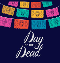 mexican day of the death vector image vector image