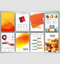 orange backgrounds and abstract concept vector image