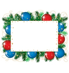 Christmas background isolated vector image