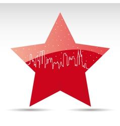 American star vector image vector image