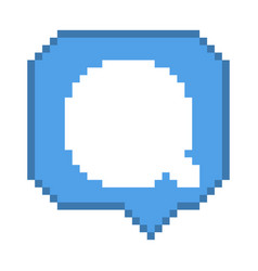 8 bit comment bubble vector
